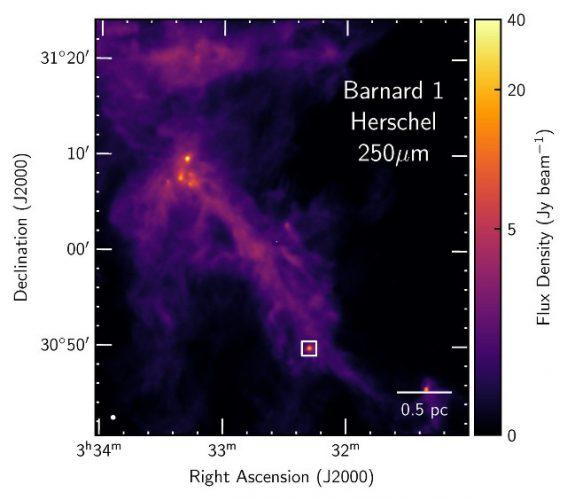 L'area attorno al sistema Per-emb-2 (IRAS 03292+3039)
