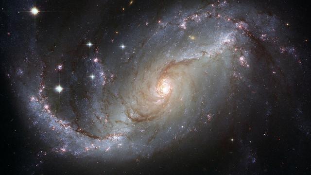 La galassia NGC 4414 (Immagine Università dell'Oregon)