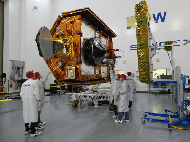 Il satellite Sentinel-6A Michael Freilich (Foto NASA/KSC)