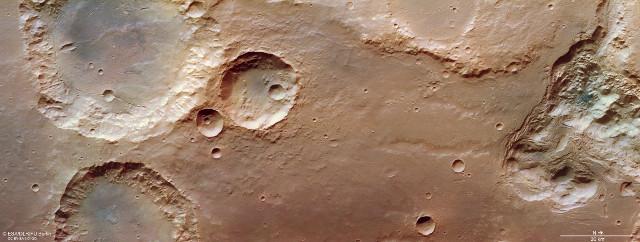 Pyrrhae Regio su Marte vista da Mars Express