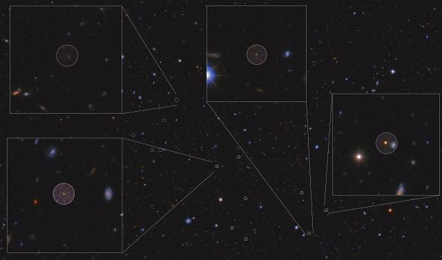 L'ammasso galattico attorno a HDF850.1