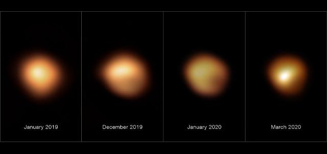 Betelgeuse vista dallo strumento SPHERE