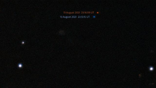 Viste dell'asteroide 2021 PH27