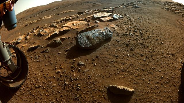 La roccia Rochette (Immagine NASA/JPL-Caltech)