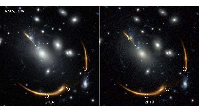 L'ammasso galattico MACS J0138.0-2155 e la supernova Requiem